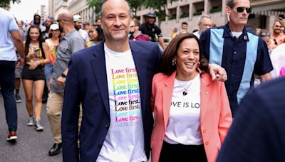 Kamala Harris Is First Sitting VP To Take Part In Pride Event