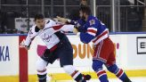 Capitals beat Rangers 4-2 in fight-filled game