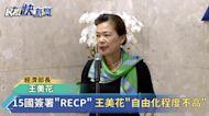 快新聞/中日韓等15國今簽署RCEP 王美花:降稅清單公布前先與業界溝通