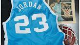 Michael Jordan North Carolina jersey auctioned for $1.38 million