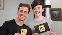Joey McIntyre and Son Griffin Interview Each Other About Their Young Starts in Hollywood (Exclusive)