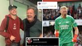 Piers Morgan makes peace with Arsenal ace Ramsdale after being called 'w***er'