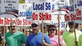 From film sets to manufacturing plants, unions push companies as workers stay scarce