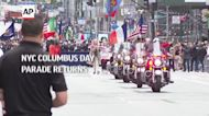 NYC Columbus Day Parade returns after COVID year