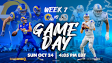 Lions vs. Rams: How to watch, listen, stream and wager on the Week 7 game