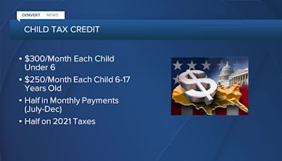 Latest child tax credit payments going to banks today