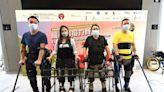港大機械腳接力賽 4脊髓損傷患者「行」入社區