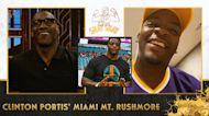Clinton Portis shares his Top 4 Miami Hurricanes of All-Time: Ed Reed, Edge, Sapp, Sean T I Club Shay Shay
