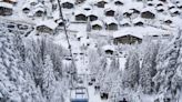 Empty French ski lifts, packed Swiss resorts. Covid rules clash in the Alps.