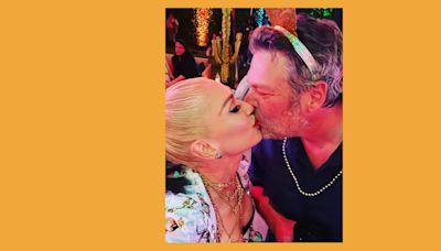 Watch Gwen Stefani surprise Blake Shelton for his birthday