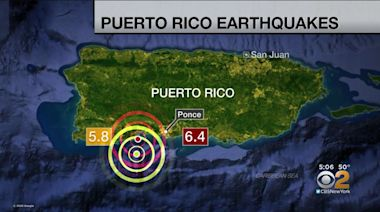 Another Earthquake Strikes Off Puerto Rico's Coast