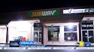 Man with knife robs Visalia Subway sandwich shop