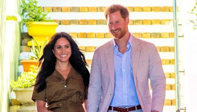 Prince Harry & Meghan Markle Jumped Back in the Royal Family Group Chat to Share Photos of Baby Lilibet