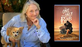 Bob, the tiny dog from 'The One and Only Ivan,' takes the lead in a new book
