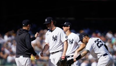Cole rocked as Yanks lose ground in 11-1 loss to Indians