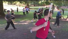 Martial Arts School Gets Creative After Being Forced Outside