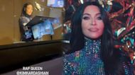 Watch Kim Kardashian Record Her 'Saturday Night Live' Rap in the Studio!
