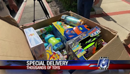 Man from RGV brings special Christmas toy donation to KRIS 6 News