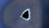 """Google Maps: así es el """"agujero negro"""" en el océano Pacífico"""