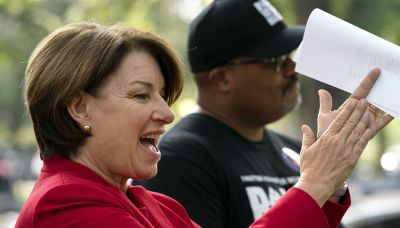 Klobuchar: Legislation needed to combat voter suppression
