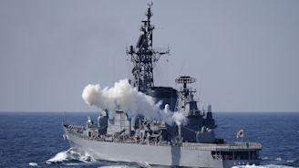 中國漁船與日驅逐艦東海相撞 「島風號」船身出現逾1公尺破洞--上報