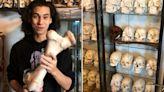 21歲男網拍賣人骨! 「肋骨502元、頭骨5.5萬」網嚇傻:晚上超恐怖