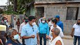 Caasd verifica avances de trabajos de saneamiento de cañada en Gualey