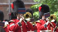 Three Lions played at Clarence House at Charles's request