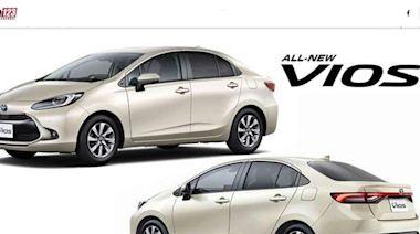 內外翻新、換上 1.0 渦輪,Toyota Vios 準備推大改款! - 自由電子報汽車頻道