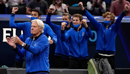 Saturday clean sweep sees Team Europe open up 11-1 lead in Laver Cup