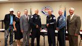 Morgan Freeman interviews police recruits in Alabama town