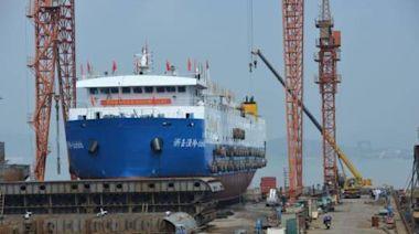 每小時加工3噸蝦皮 中國國產化先進蝦皮加工船建成