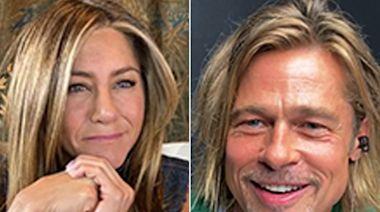 Brad Pitt & Jennifer Aniston Reunite for Fast Times at Ridgemont High Read — Including a Steamy Scene