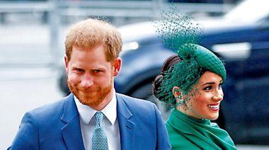 與寶潔合作 哈里夫婦捱轟