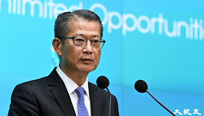 陳茂波發表營商環境報告 稱報告與特首選舉無關