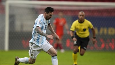 Argentina counting on Messi - and history - against Paraguay
