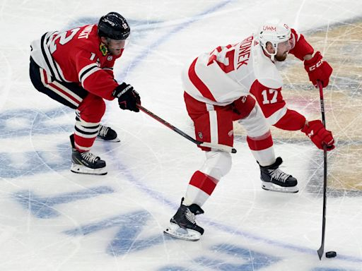 Detroit Red Wings lose to Chicago Blackhawks, 6-2: Game thread replay