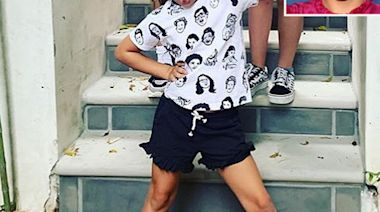 Busy Philipps' Daughter Cricket, 5½½, Wears a Freaks and Geeks Shirt in Sweet New Snap