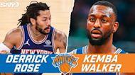 NBA Insider on Derrick Rose vs. Kemba Walker at PG, RJ Barrett proving he's a two-way player | Ian Begley