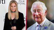 Barbra Streisand Reveals Prince Charles Sent Her Flowers Before He Met Diana