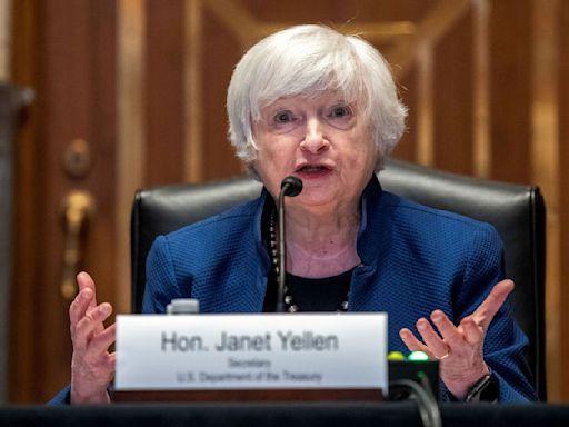 美財政部長葉倫:通膨年底回落