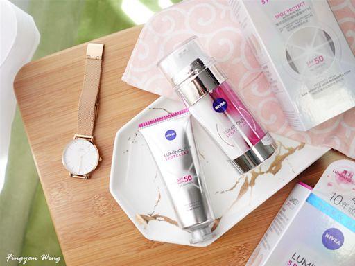 |護膚の享|淡斑美肌1+1神器 ☀ NIVEA雙效淡斑透白精華+雙效淡斑防曬修護霜 | Girlssss 女生日常 - 分享快樂正能量