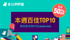 【Deliveroo】百佳TOP 10產品低至半價(即日起至21...