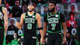 Jaylen Brown has great reaction to Celtics teammate Jayson Tatum's contract extension