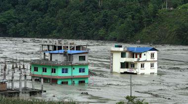 尼泊爾洪水25人失蹤 11死含兩中國工人