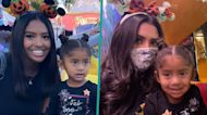 Vanessa Bryant & Daughters Natalia, Bianka & Capri Enjoy Spooktacular Pre-Halloween Disneyland Trip