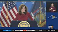 Gov. Kathy Hochul Holds First COVID Briefing