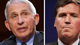"""Dr. Fauci Calls Tucker Carlson's Vaccine Comments A """"Crazy Conspiracy Theory"""""""