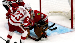 Detroit Red Wings rookie Lucas Raymond becomes youngest to net hat trick since 1985