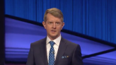 Emotional Ken Jennings Pays Tribute To Alex Trebek At Top Of 'Jeopardy!' Guest Hosting Debut